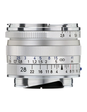 Zeiss Biogon 28mm f/2.8 ZM Silver for Leica M-Mount