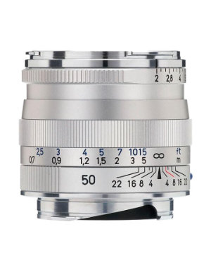 Zeiss Planar 50mm f/2.0 Silver ZM for Leica M-Mount