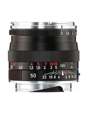 Zeiss Planar 50mm f/2.0 Black ZM for Leica M-Mount