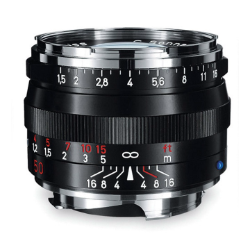 Zeiss C Sonnar T* 50mm f/1.5 ZM Black for Leica M-Mount