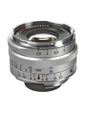 Zeiss C-Biogon 35mm f/2.8 ZM Silver for Leica M-Mount