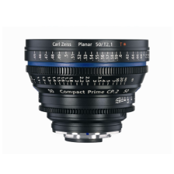 Zeiss Compact Prime CP.2 50mm/T2.1 EF Metre