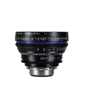 Zeiss Compact Prime CP.2 25mm/T2.1 PL Feet