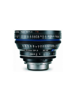 Zeiss Compact Prime CP.2 50mm/T1.5 PL Feet