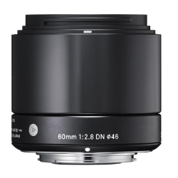 Sigma 60mm f/2.8 Ex DN Black for Micro Four Thirds