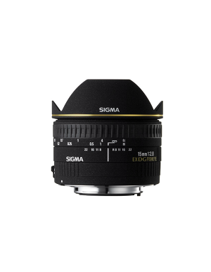 Sigma 15mm f/2.8 Ex DG Diagonal Fisheye for Canon
