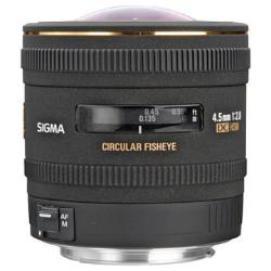 Sigma 4.5mm f/2.8 DC Fisheye HSM for Canon