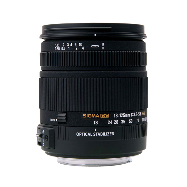 Sigma 18-125mm f/3.8-5.6 DC HSM Lens for Pentax