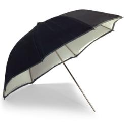 RedWing Umbrella 90cm Silver / White Bowens RedWing BW4036