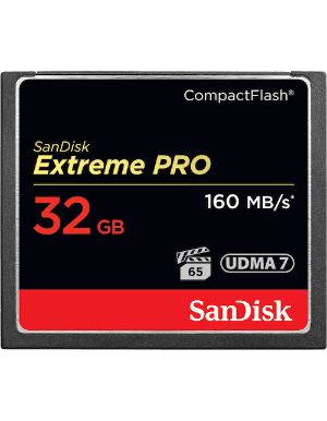 SanDisk Extreme Pro CompactFlash 32GB 160MB/s