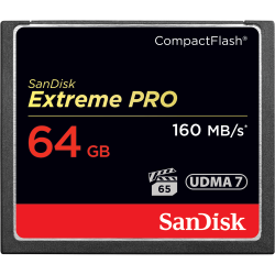 SanDisk Extreme Pro CompactFlash 64GB 160MB/s