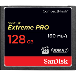 SanDisk Extreme Pro CompactFlash 128GB 160MB/s