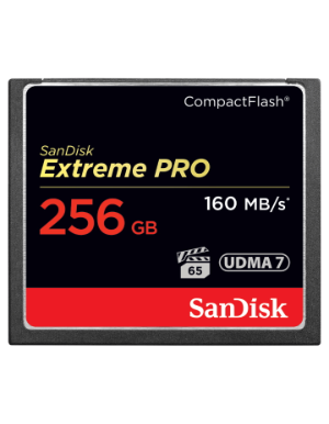 SanDisk Extreme Pro  CompactFlash 256GB 160MB/s