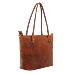 ONA Capri Tote Bag - Antique Cognac **