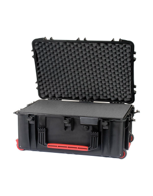 HPRC 2760W - Wheeled Hard Case with Cubed Foam (Black)
