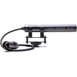 Azden SGM-PDII Professional Shotgun Microphone XLR Wired Output Phantom Power