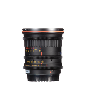 Tokina Cinema 11-16mm T3 DX Lens for Canon EF Mount