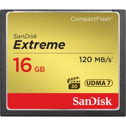 SanDisk Extreme CompactFlash 16GB 120MB/s**