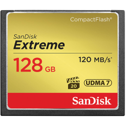 SanDisk Extreme CompactFlash 128GB 120MB/s