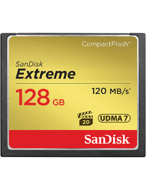 SanDisk Extreme CompactFlash 128GB 120MB/s