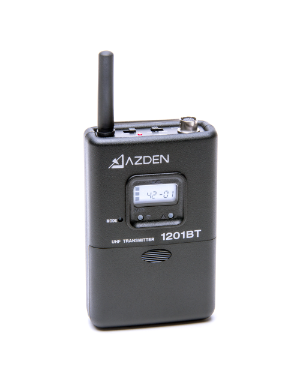 Azden 1201BT 1201 Series UHF Body-Pack Transmitter
