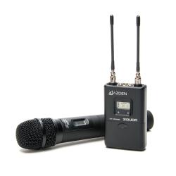 Azden 310HT UHF On-Camera Hand-Held System 566.125-589.875 MHz Tx-Rx Kit