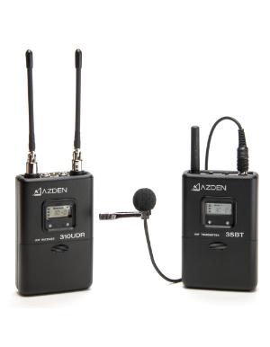 Azden 310LT UHF On-Camera Body-Pack System 566.125-589.875 MHz Tx-Rx Kit