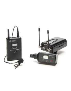 Azden 330LX UHF On-Camera Plug-In & Body-Pack System 566.125-589.875 MHz Tx-Rx Kit