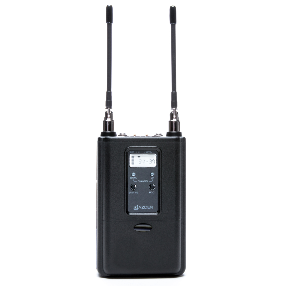 Azden 330UPR UHF On-Camera Dual Receiver 566.125-589.875
