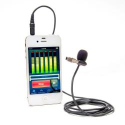 Azden EX-503i Studio Pro Lapel Microphone for Smartphones & Tablets