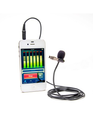 Studio Pro Lapel Microphone For Smartphones & Tablets