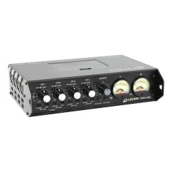 Azden FMX-42U 4-Channel Portable Mic/Line Mixer with USB Digital Audio Output