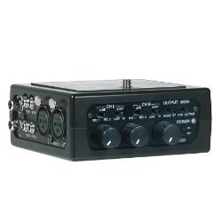 Azden FMX-DSLR 2-Channel Portable Mic/Line Mixer for DSLR Cameras