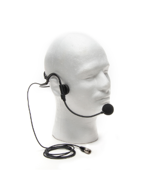 Azden HS-12H Uni-Directional Behind-The-Head Set Microphone Hirose