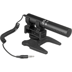 Azden SMX-20 Directional Stereo Microphone 3.5mm LR-44 Battery