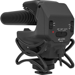 Azden SMX-15 Powered Shotgun Video Microphone 3.5mm 2 x AA Battery
