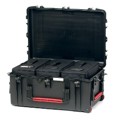 HPRC 2780W - Wheeled Hard Case with Bag (Black)