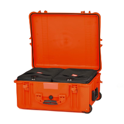 HPRC 2700W - Wheeled Hard Case with Bag (Orange)