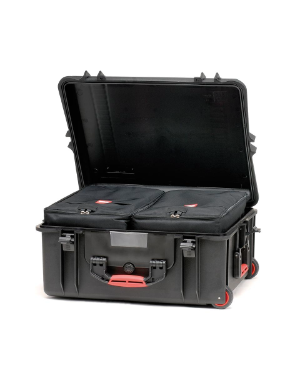HPRC 2700W - Wheeled Hard Case with Bag (Black)