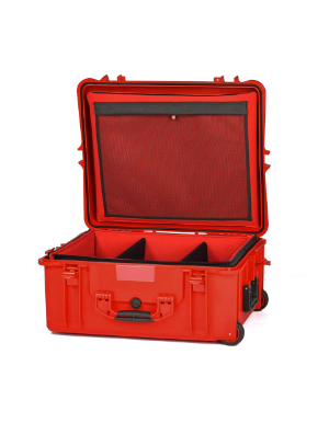 HPRC 2700W - Wheeled Hard Case with Soft Deck (Red)