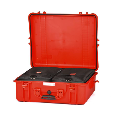 HPRC 2700 - Hard Case with Bag (Red)