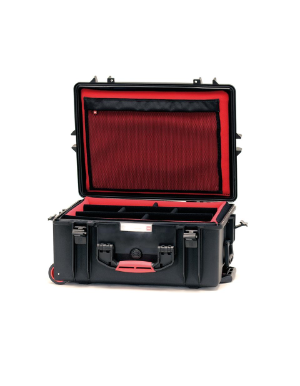 HPRC 2600W - Wheeled Hard Case with Soft Deck (Black)