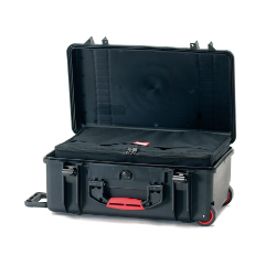HPRC 2550W - Wheeled Hard Case with Bag (Black)