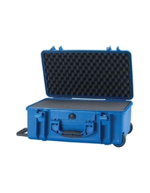 HPRC 2550W - Wheeled Hard Case with Cubed Foam (Blue)
