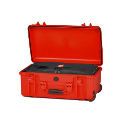 HPRC 2550W - Wheeled Hard Case with Bag (Red) **