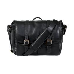 ONA Brixton Messenger Bag - Leather Black