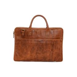 ONA Kingston Laptop Briefcase - Antique Cognac