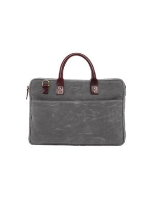 ONA Kingston Laptop Briefcase - Smoke