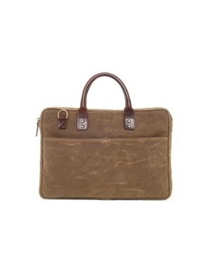 ONA Kingston Laptop Briefcase - Field Tan