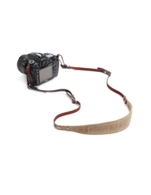 ONA Lima Camera Strap - Field Tan